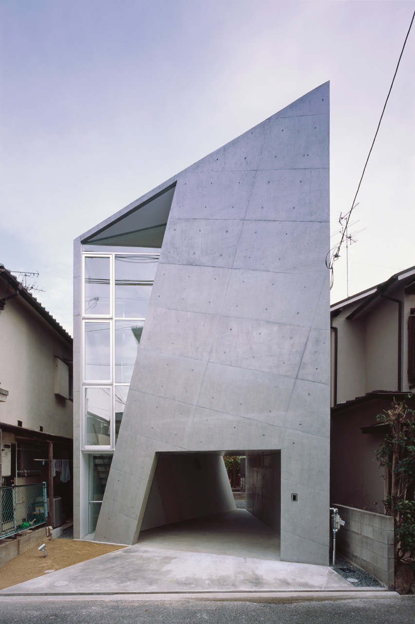house folded alphaville architects archdaily - Architecture Design Houses
