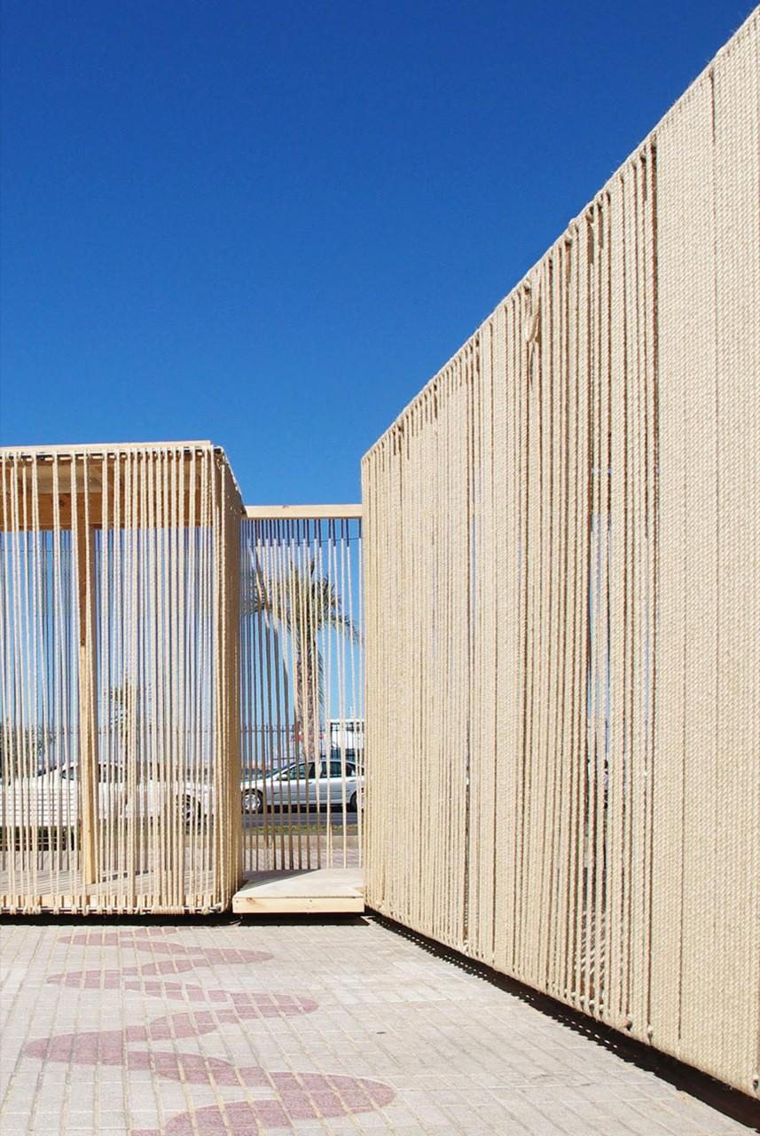 Gallery Of Cadiz Temporary Pavilion Breathnach Donnellan