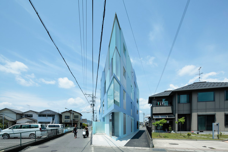 On the Corner / EASTERN Design Office, © Koichi Torimura