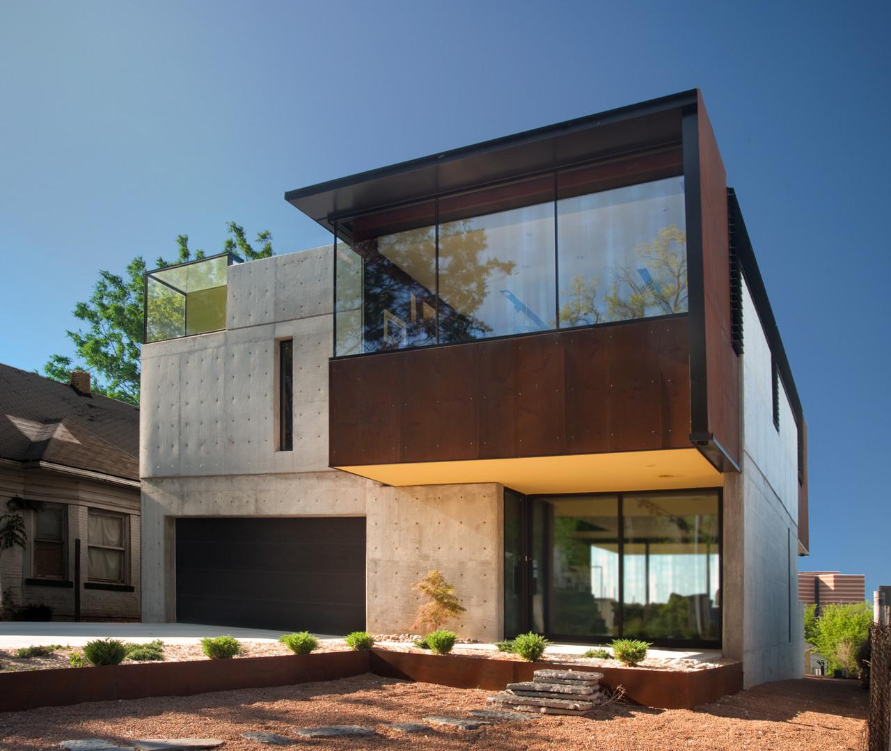 Gallery of oklahoma case study house fitzsimmons for Casas arquitectonicas modernas