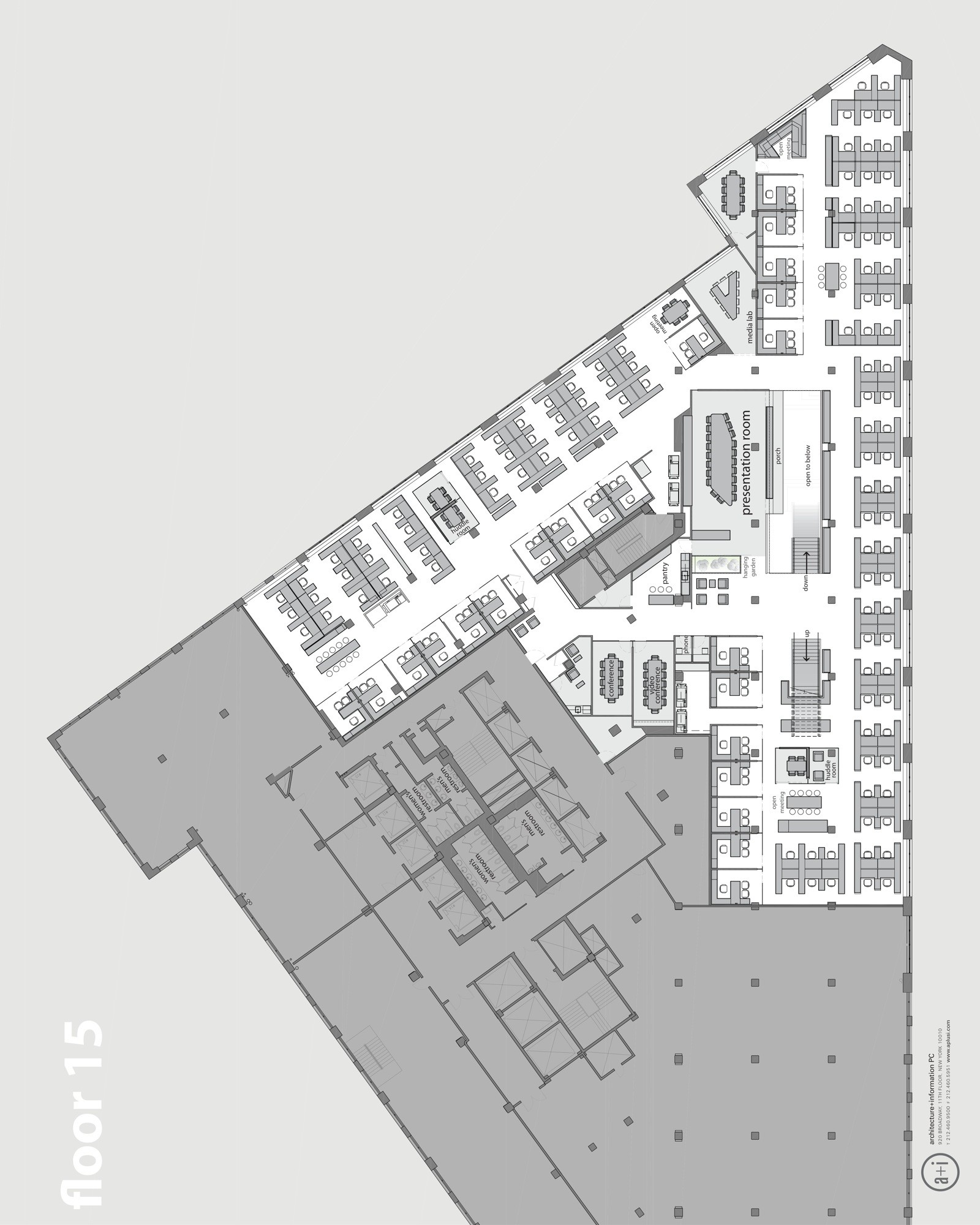 horizon media office. Floor Plan Horizon Media Office S