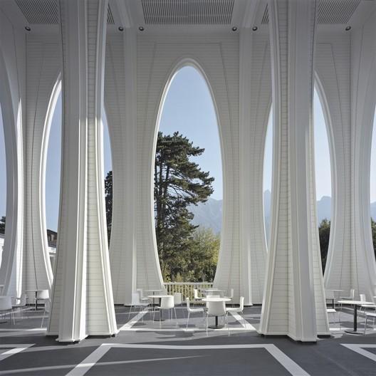Tamina Thermal Baths / Smolenicky & Partner Architecture