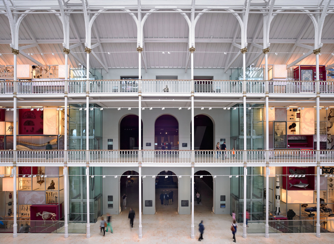 National Museum Of Scotland Gareth Hoskins Architects Archdaily