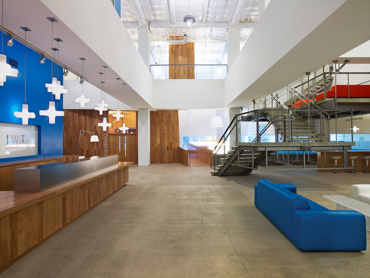 JWT Headquarters / Clive Wilkinson Architects, © Eric Laignel Photography