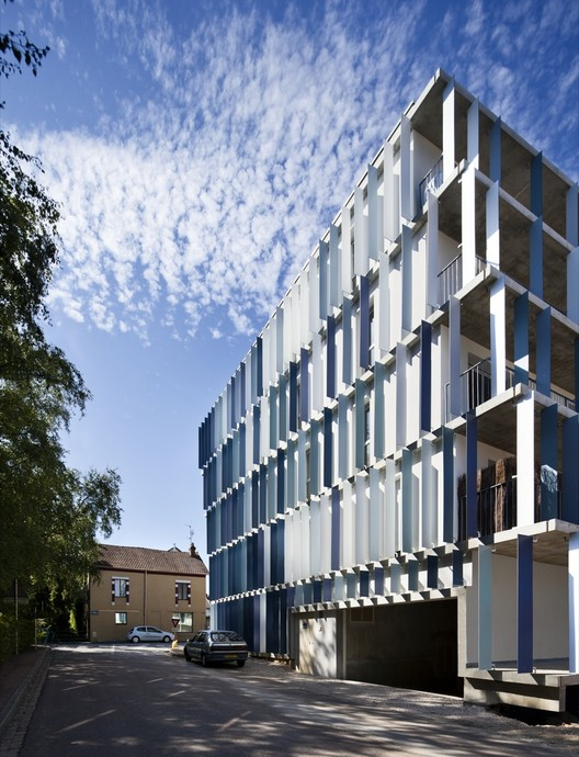 CHL Social Housing / O-S Architectes, © Luc Boegly