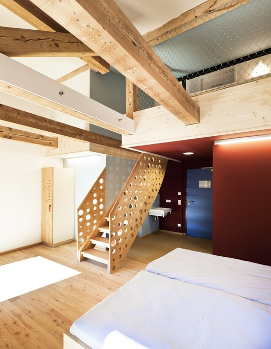 Berchtesgaden Youth Hostel / LAVA, Courtesy of LAVA