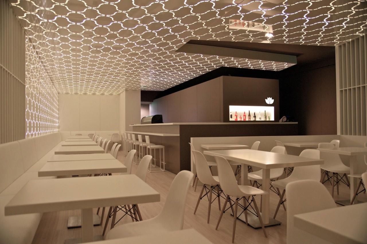 Sushihana restaurant a g arquitectura archdaily