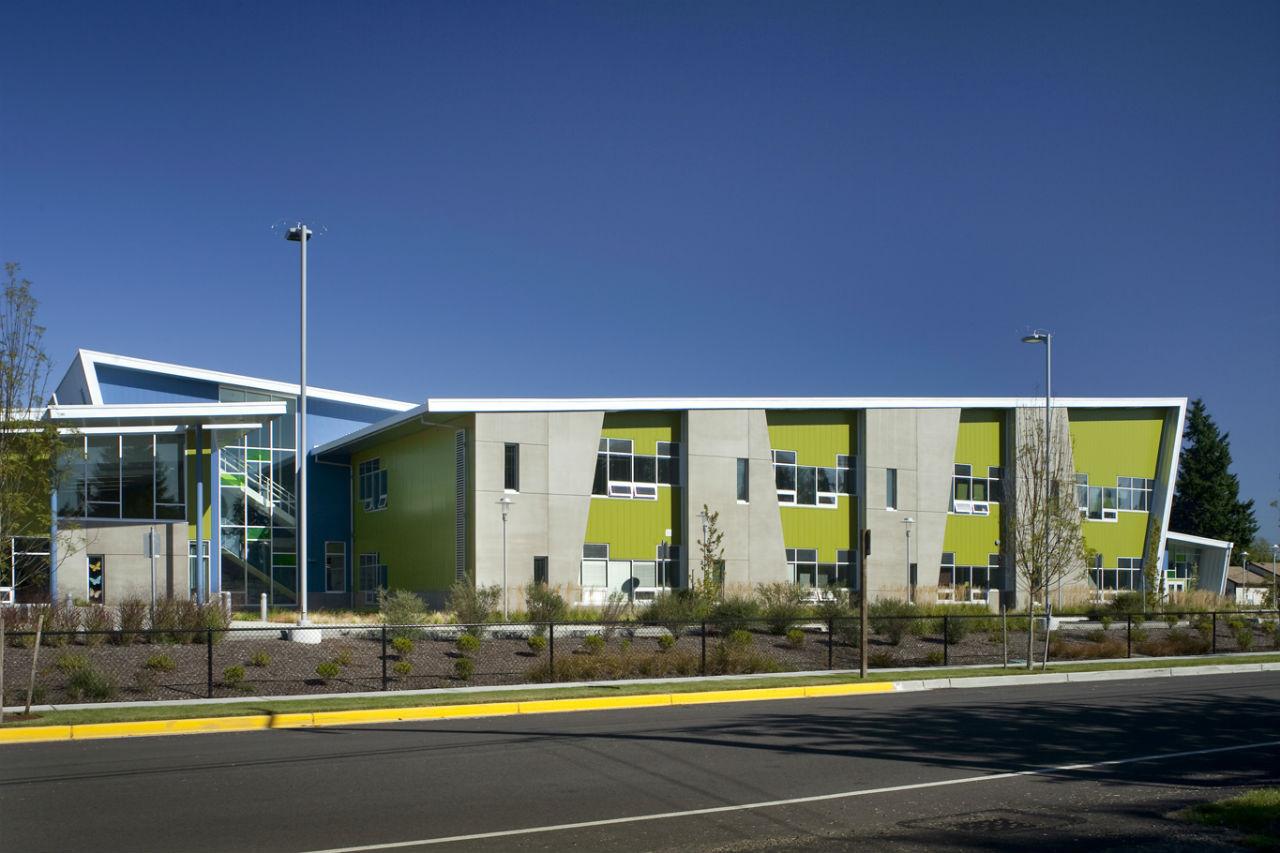 Architecture Elementary School mcmicken elementary school / tcf architecture | archdaily