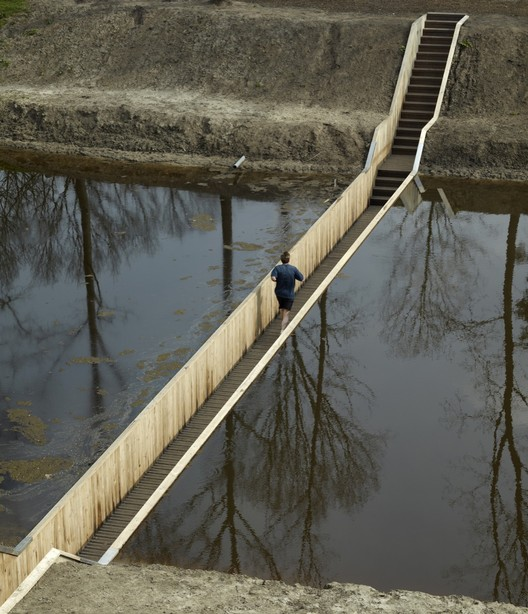 Moses Bridge / RO&AD Architecten, Courtesy of RO&AD Architecten