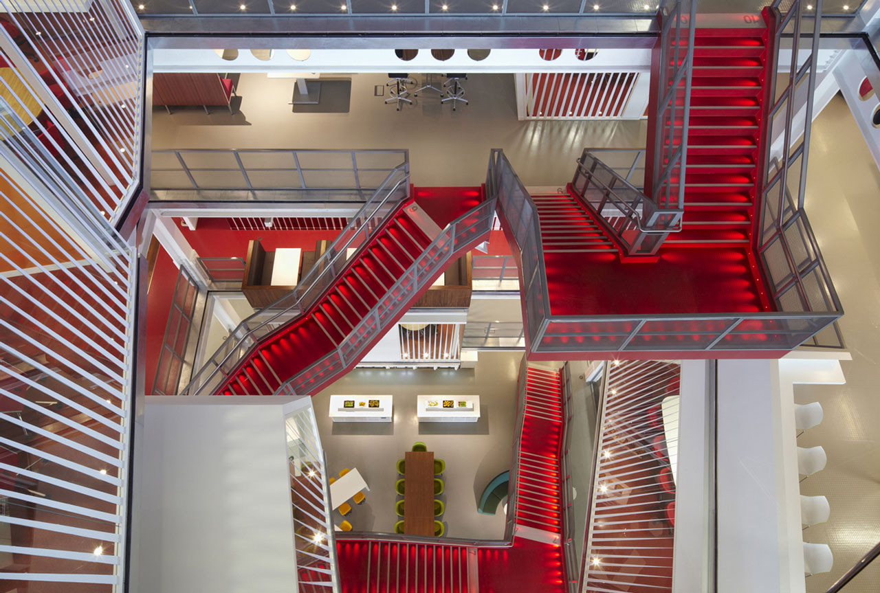 Ropemaker / Clive Wilkinson Architects, Courtesy of Clive Wilkinson Architects