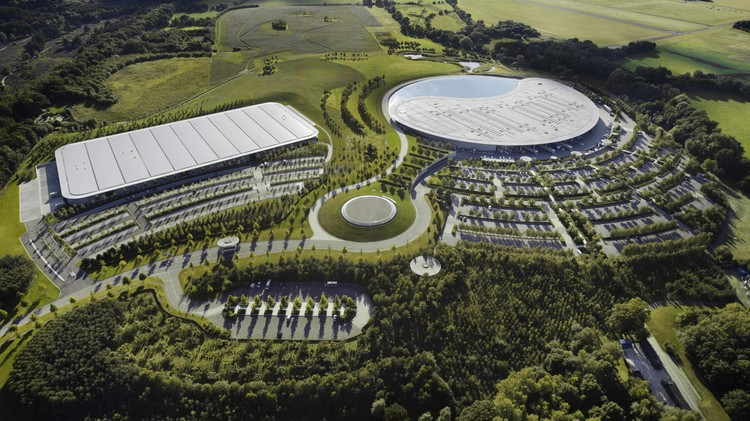 McLaren Production Centre / Foster + Partners, © McLaren