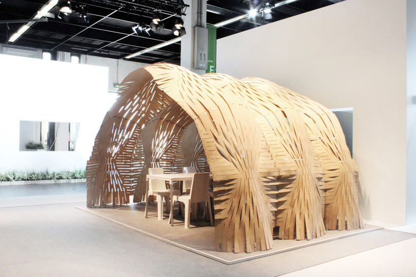 Expandable Surface Pavilion / Pablo Esteban Zamorano, Nacho Martí and Jacob Bek, Courtesy of  pablo esteban zamorano