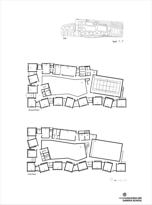 Modular Classroom Defined ~ Gandra school cnll archdaily
