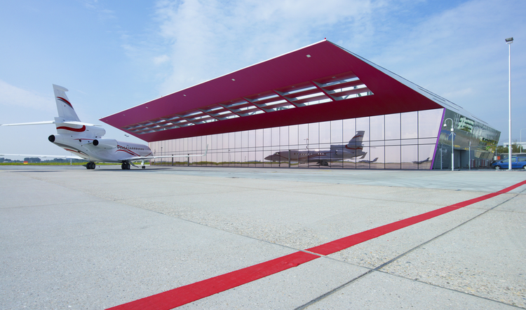 New VVIP Terminal / VMX Architects, Courtesy of VMX Architects