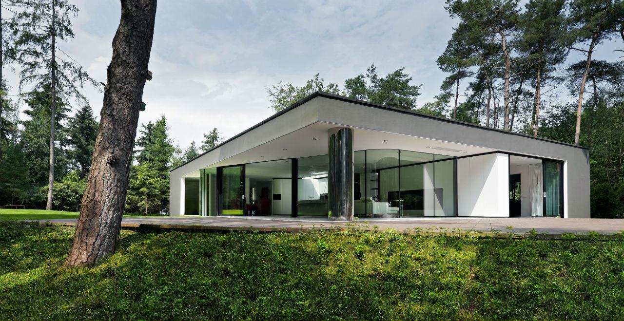 Villa veth 123dv archdaily for Moderne semi bungalow bouwen