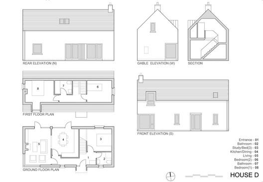 House D plan