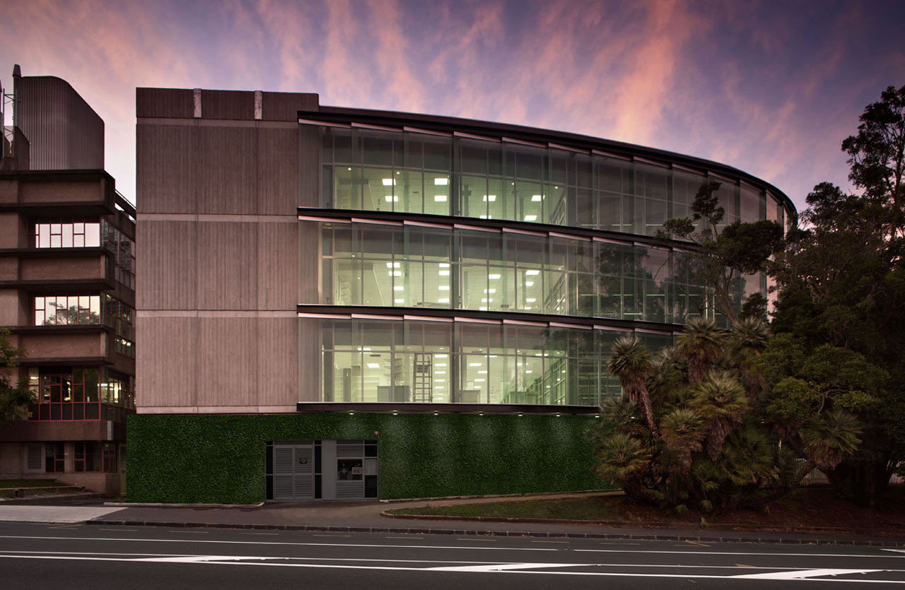 Biosciences Centre Extension, University of Auckland / Stephenson&Turner, © Simon Devitt