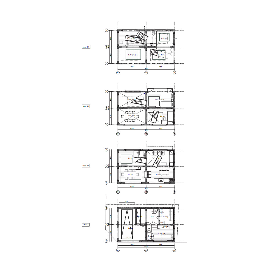 Gallery of house h sou fujimoto architects 8 for H and h homes floor plans