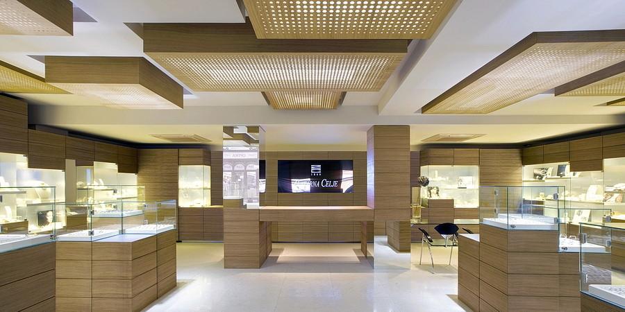 Zlatarna Celje Jewelry Ofis Architects Archdaily