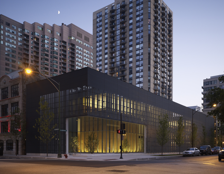 Poetry Foundation / John Ronan Architects, © Steve Hall/Hedrich Blessing
