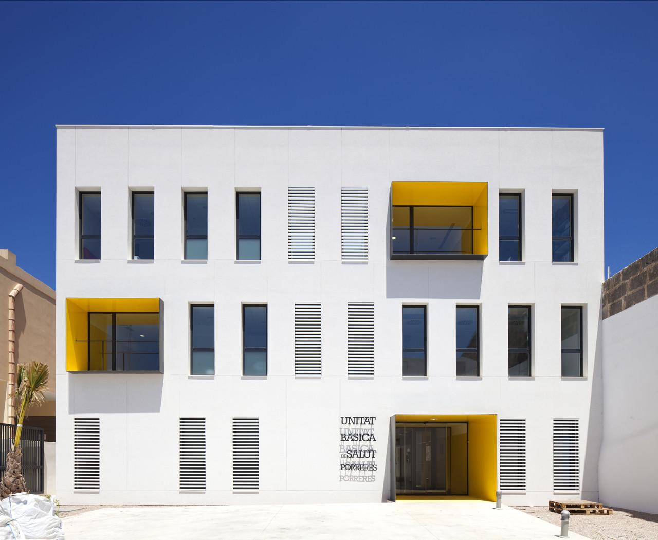 Porreres Medical Center / MACA Estudio, © Jaime Sicilia