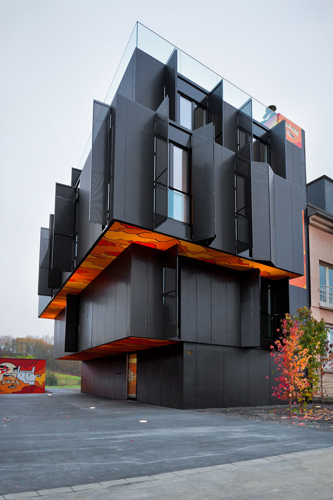 Apartment Building in Luxembourg / Metaform Architects, © steve troes fotodesign