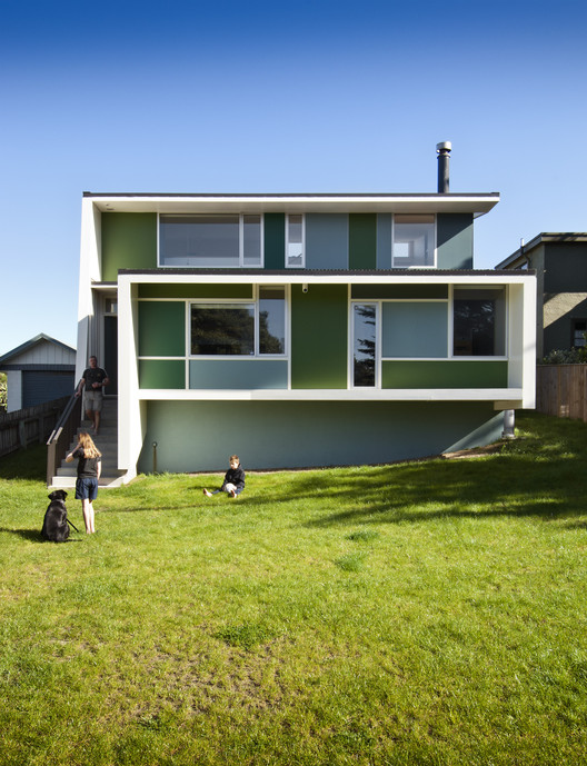 Waikanae House / Parsonson Architects, © Paul Mcredie