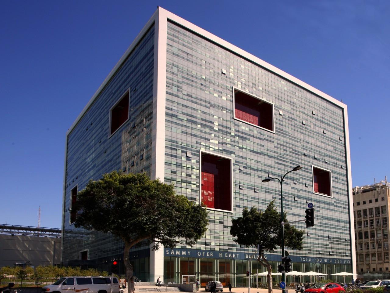 Sammy Ofer Heart Building / Sharon Architects & Ranni Ziss Architects, © Rona Vatash