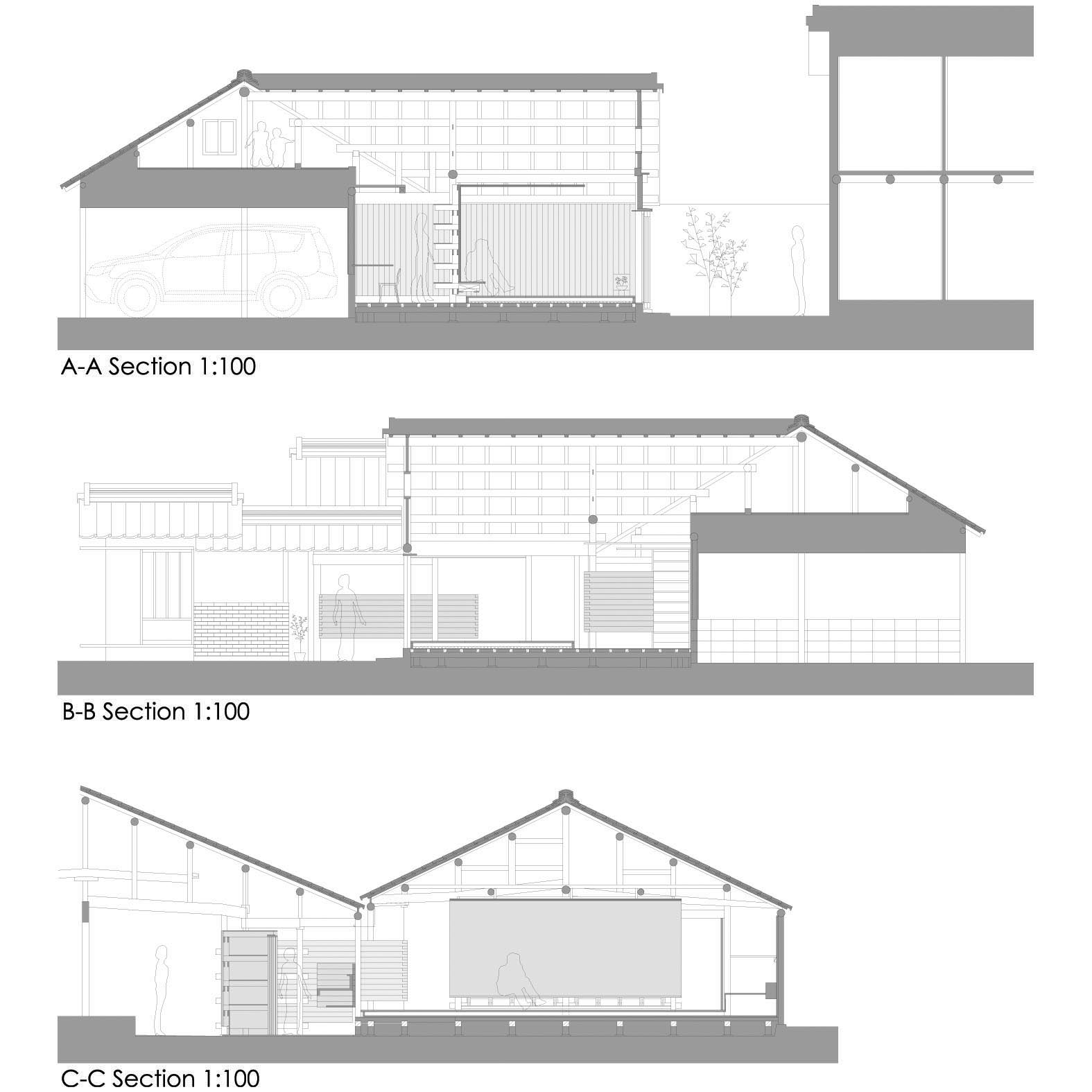 gallery of wood old house tadashi yoshimura architects 16