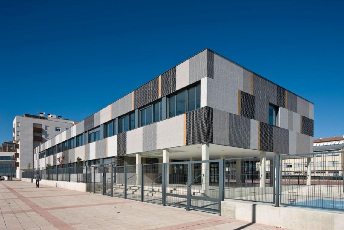 Secondary School Miranda de Ebro / Virai Arquitectos, © Jose Manuel Cutillas