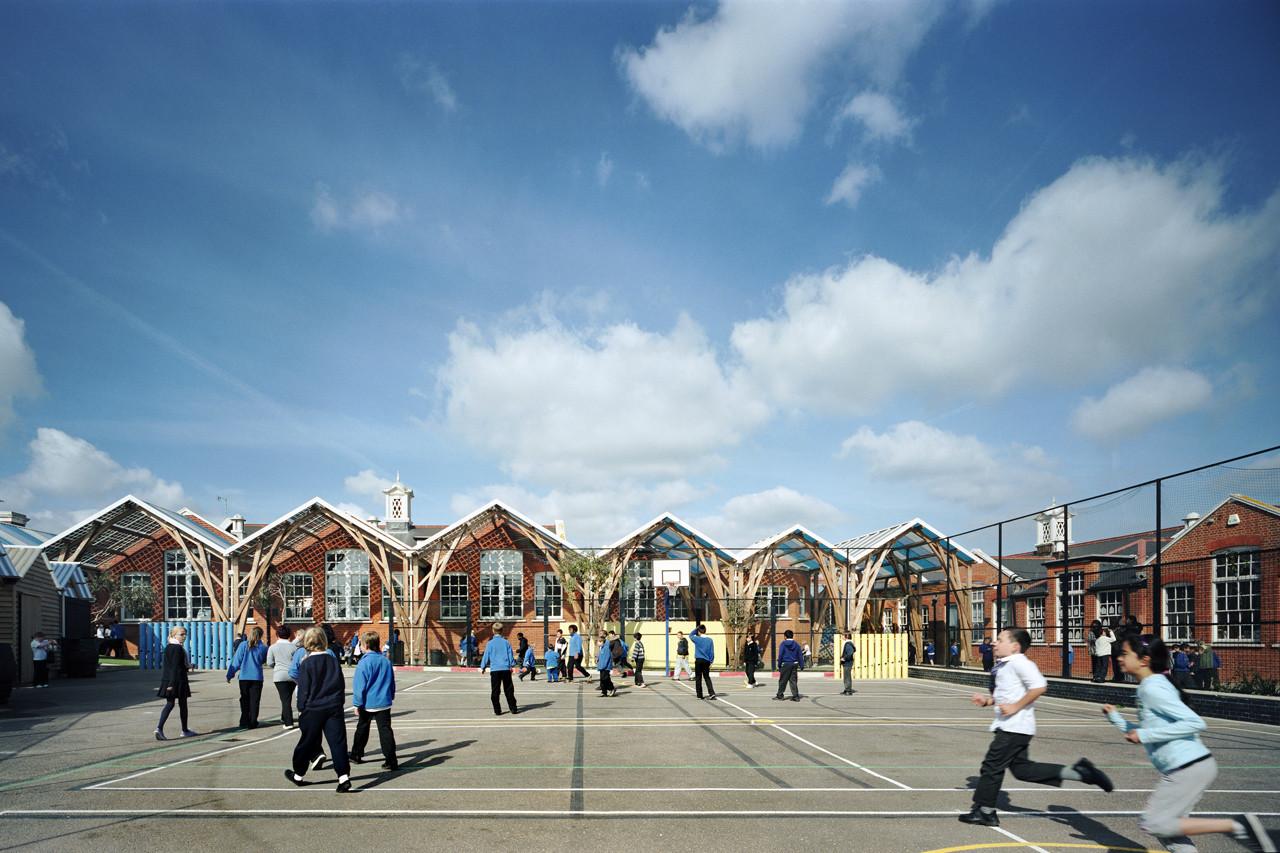 Westborough Primary School / Cottrell & Vermeulen Architecture Ltd., © Anthony Coleman