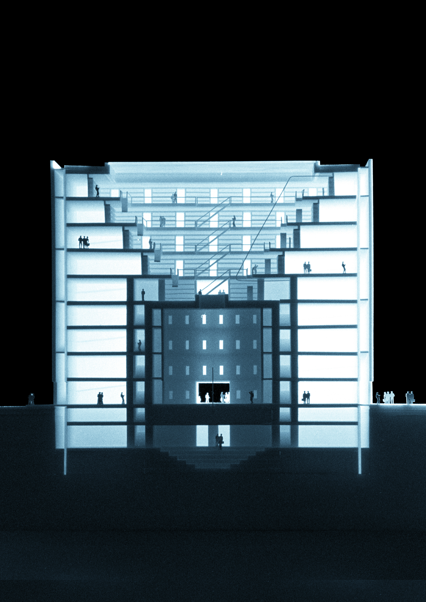 Architects Stuttgart stuttgart city library yi architects archdaily
