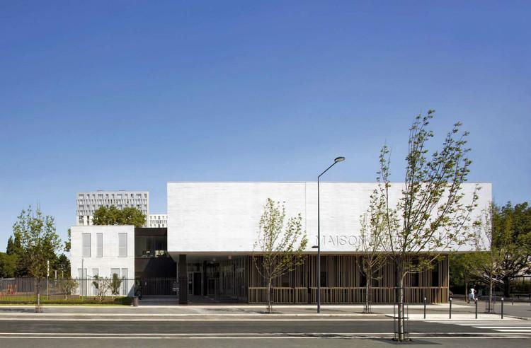 Maison du Temps Libre à Stains / Gaetan Le Penhuel Architectes, © Herve Abbadie