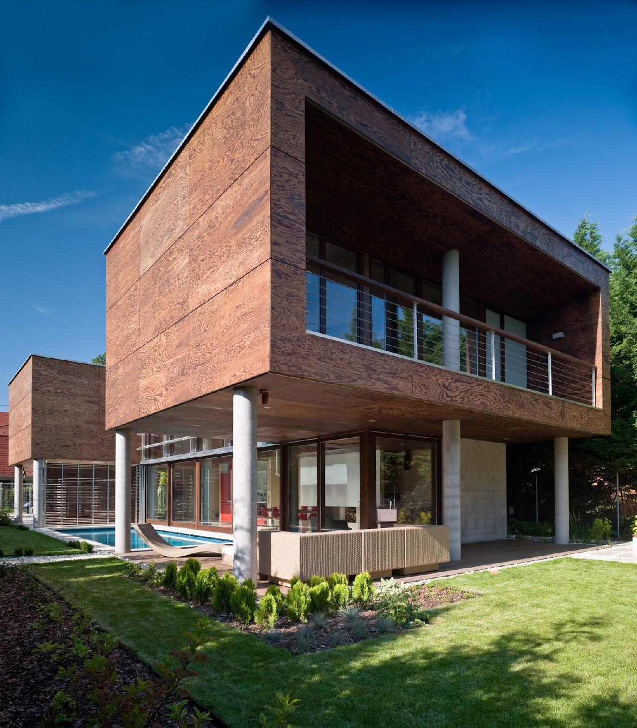 Summer Villa at Lake Balaton / FBI Studio architects, © Zsolt Batár