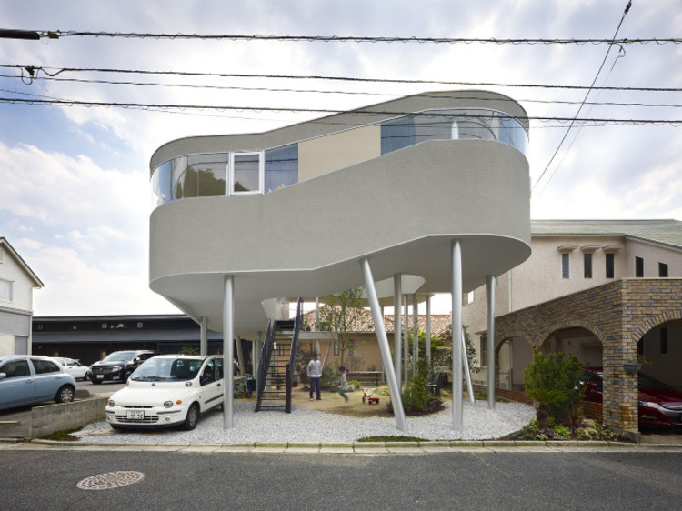 Toda House / Office of Kimihiko Okada, © Toshiyuki Yano