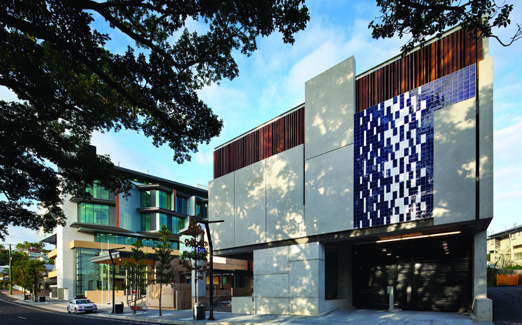 Ipswich Justice Precinct / Cox Rayner Architects with ABM Architects, © Christopher Fredrick Jones