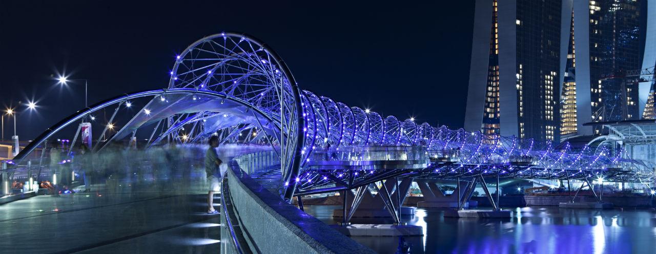 Helix Bridge / Cox Architecture with Architects 61, © Christopher Frederick Jones