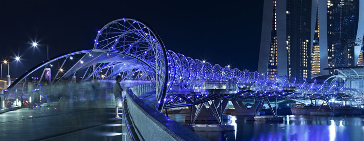 Helix Bridge / Cox Architecture with Architects 61, © Christopher Frederick Jones