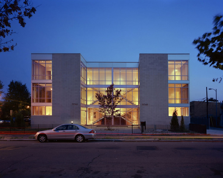 See Through Townhouses / Suzane Reatig Architecture, © Robert Lautman & Suzane Reatig