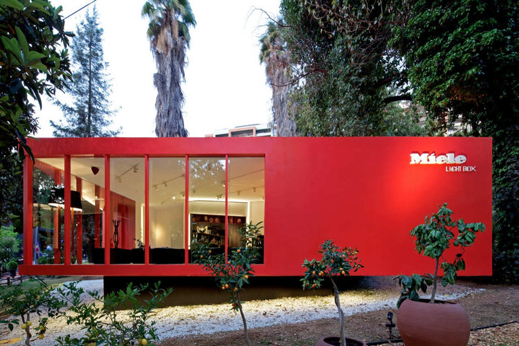 Miele Light Box / Gonzalo Mardones V Arquitectos, © Nico Saieh