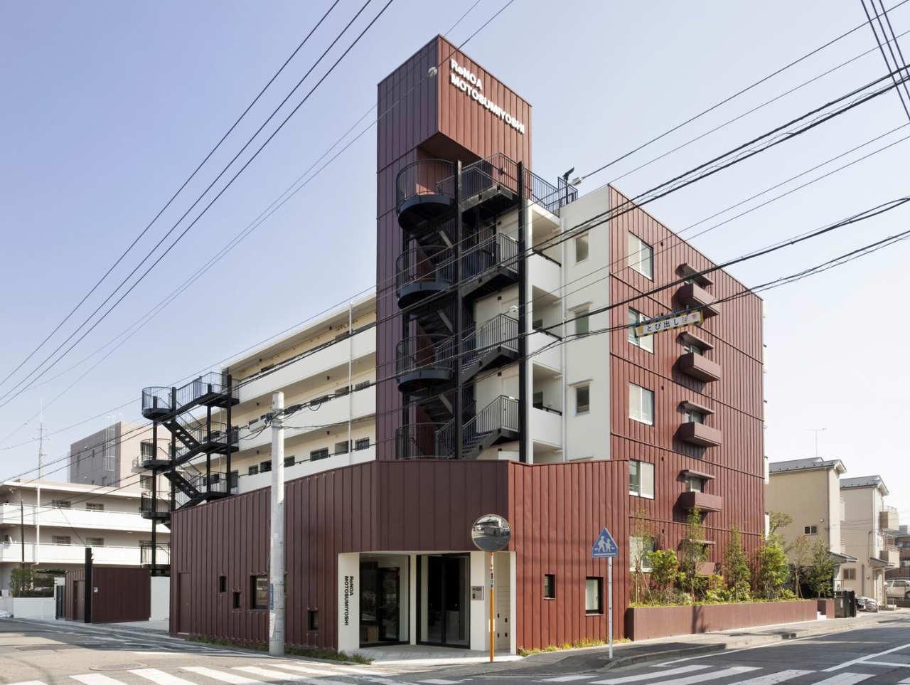 ReNOA Motosumiyoshi / KEY OPERATION INC., © KEY OPERATION INC. / ARCHITECTS + ReBITA Inc.