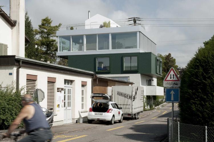 Fünf Häuser / Lukas Lenherr Architektur , © Walter Mair