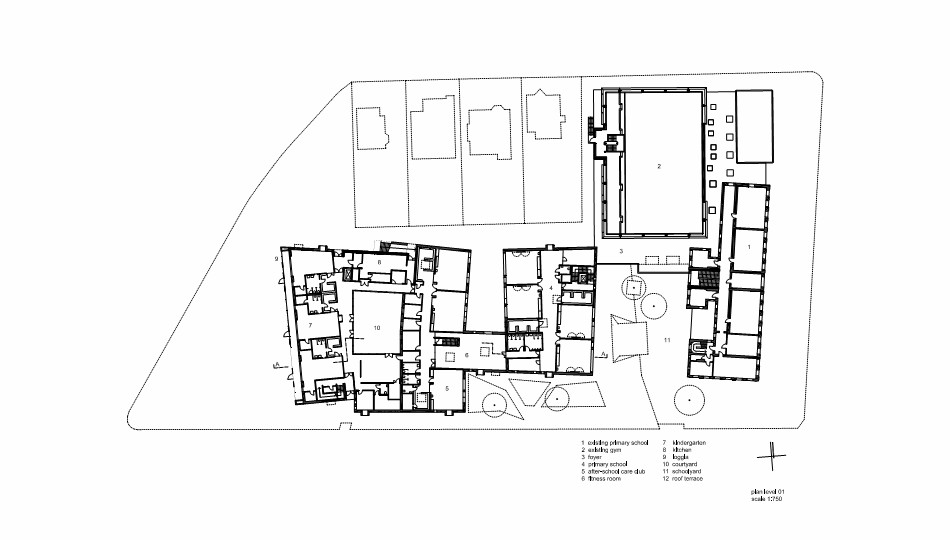 Sample Floor Plans For Daycare Center: Gallery Of Childcare Centre Maria Enzersdorf / MAGK Illiz