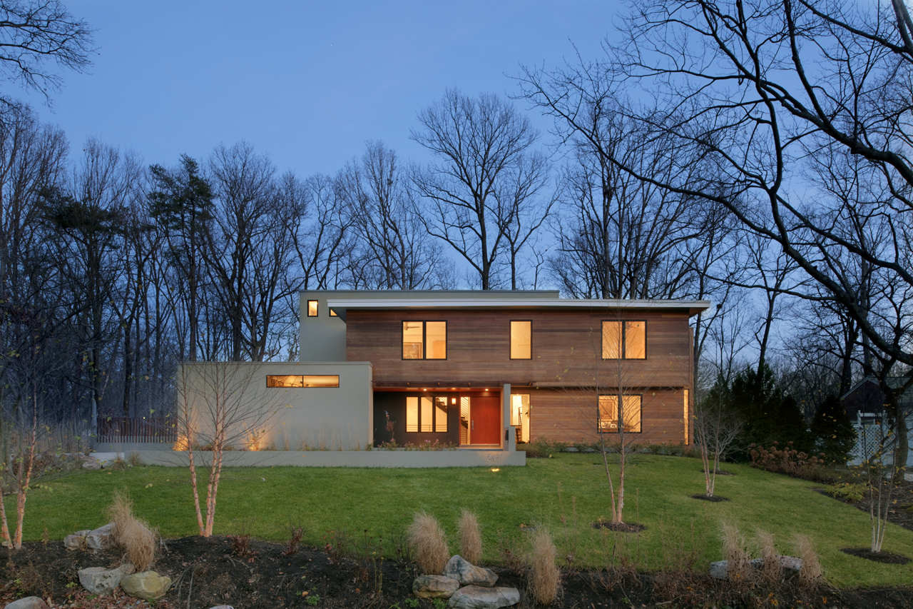 Lakefront Residence / Moore Architects, © Hoachlander Davis Photography