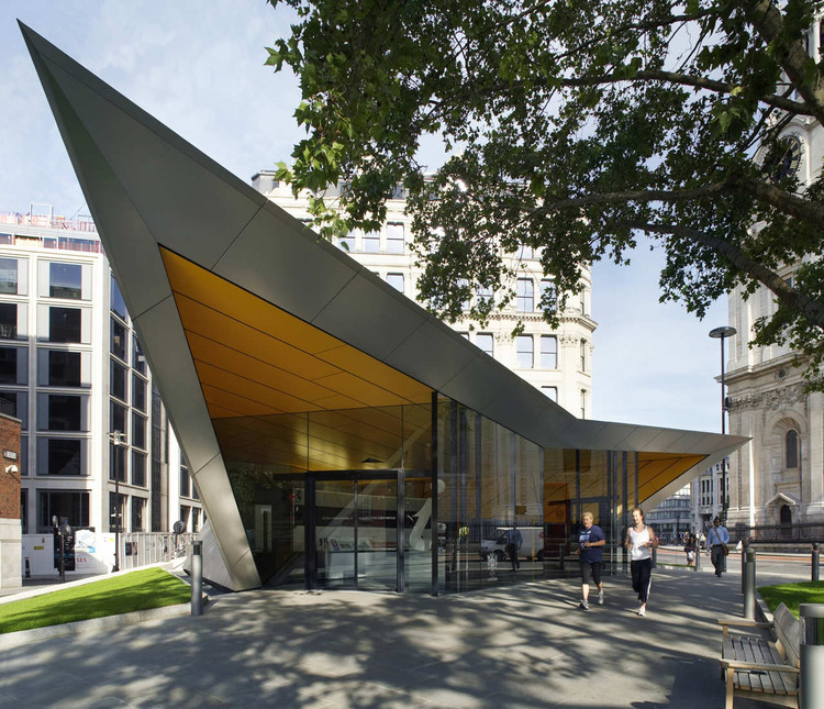 City of London Information Centre / Make Architects, Courtesy of Make Architects