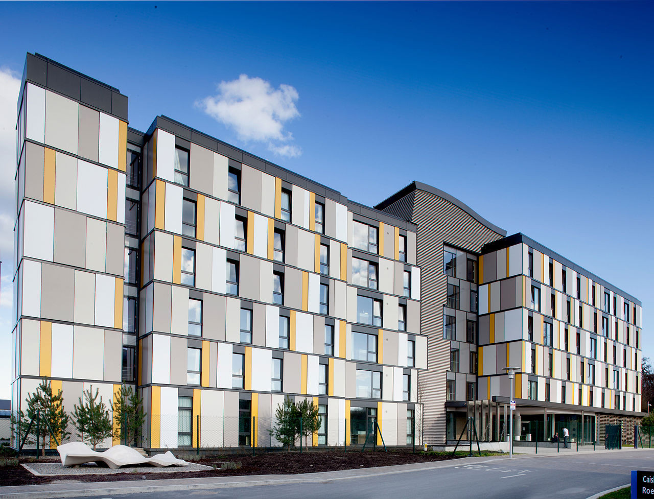 Roebuck Castle Student Residence, UCD / Kavanagh Tuite Architects, © Paul Tierney