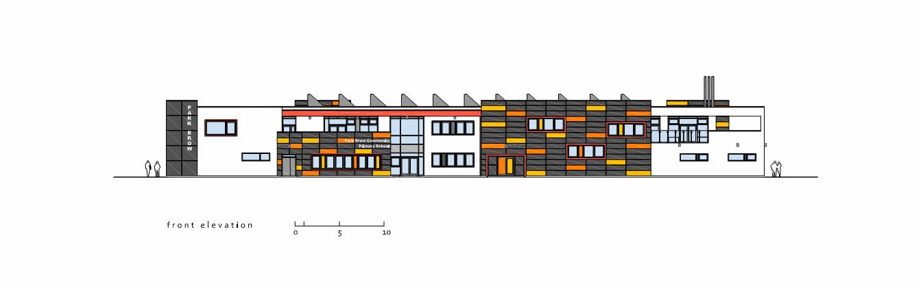 Primary School Plan Elevation : Gallery of park brow community primary school