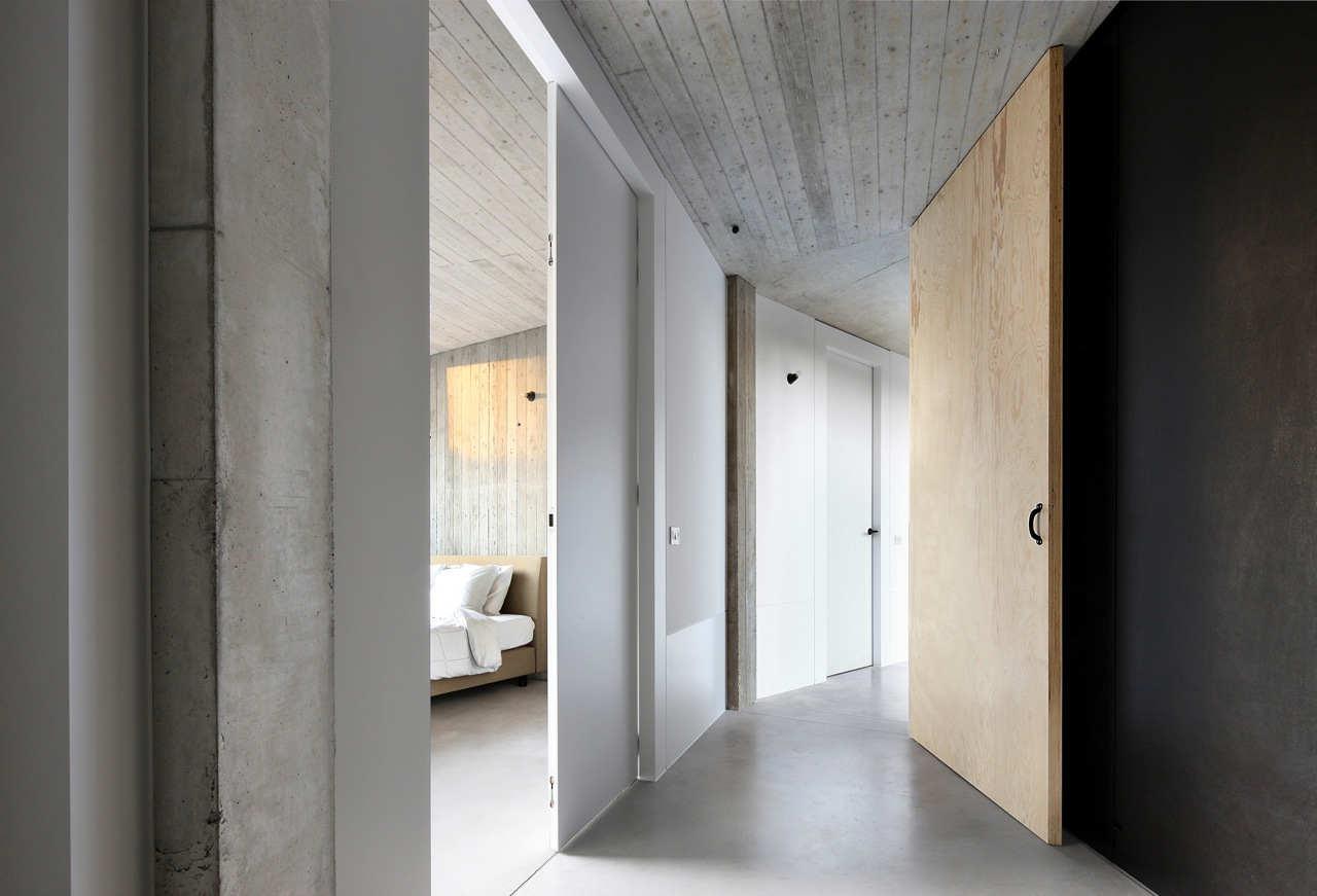 Concrete Floor Apartment Gallery Of House Bm Architecten De Vylder Vinck Taillieu
