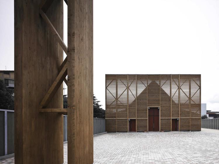 L Aquila Church Antonio Citterio Patricia Viel Archdaily