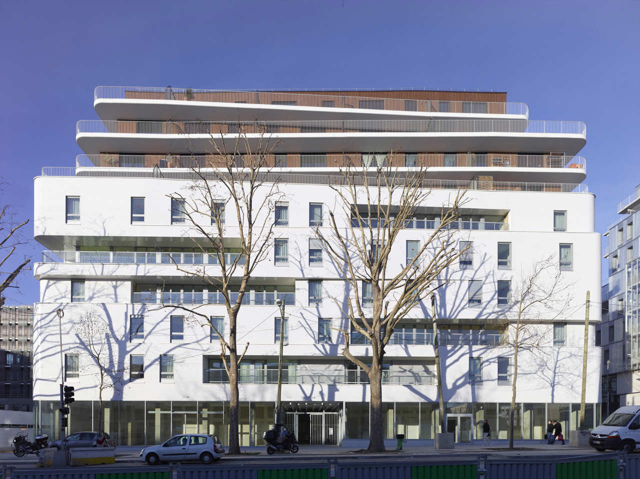Zac Claude Bernard Multifunctional Building / Atelier Zündel & Cristea, © Stephane Chalmeau